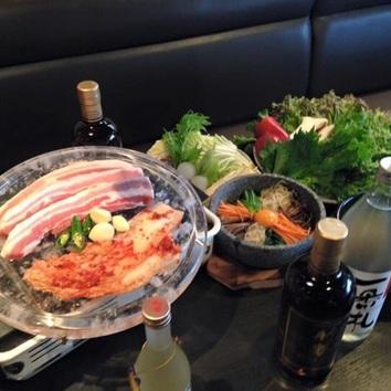 サムギョプサル食べ放題コース(2名さまから)