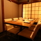 6~8名様まで利用可能な個室は、接待や食事会などにおすすめです
