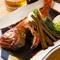 ふっくらした身とコクのある味が魅力の『金目鯛の姿煮付け』