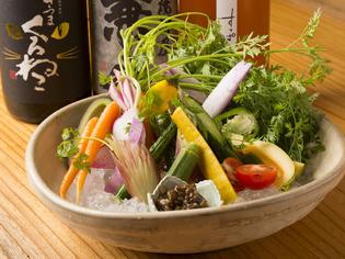 新鮮な食材をいちばん美味しい調理法で提供しております