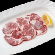 柔らかく旨みある希少部位の赤身、極上トウガラシ・極上クリ・極上ハラミの3種類の盛合せ。