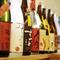 岡山の銘柄で取りそろえられた、30銘柄を超える「日本酒」