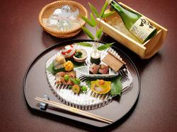 顔合わせ・結納・各種祝い事に最適なコース、サービスでお赤飯を付けさせて頂きます
