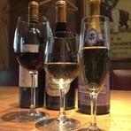 フランスワインが多数揃っています。グラスで気軽に楽しめます