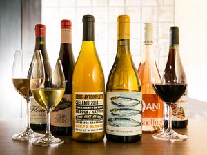 赤・白・オレンジ・ロゼとバラエティ豊かなラインナップ『自然派ワイン』