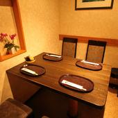 子どもと一緒に楽しめる個室は、家族の食事会にもぴったり
