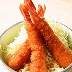 えびソース丼 (えび3本)
