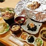 秋季限定 地元東伊那で採れる松茸と地元きのこづくしコース