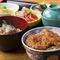 ミニソースかつ丼と椀蕎麦セット