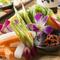 産直野菜のかご盛り~野菜スティック仕立て~モロ味噌を添えて