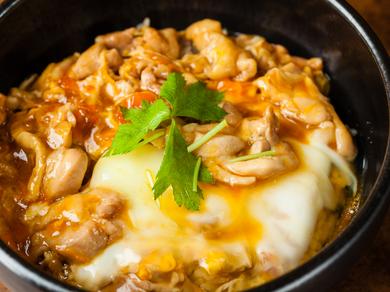 大山鶏と奥久慈卵を使ったふわとろの『親子丼』