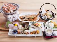 煮魚や焼き魚など、おススメ料理が揃う『荒波会席』