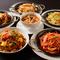 6種類の麺・パスタが食べ放題! しかも飲み放題付きです!