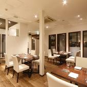 デートにぴったり、落ち着いた雰囲気のフレンチレストラン