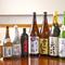 日本酒や焼酎の品ぞろえが充実、新しいボトルも加わります