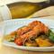 酸味がきいたチリペースト風味の『天然海老のスパイス焼き』