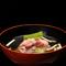 月替わりの『翡翠茄子と松茸の椀』