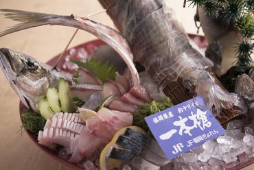 鮮度抜群の海の幸を堪能できる『刺身3種盛り』