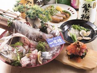 九州産の「野菜」や新鮮な「魚」などこだわりの食材を使用