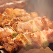 刺身でも食べられるくらいに新鮮な肉を『焼き鳥』に使用