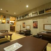 佐賀駅から徒歩3分の立地で、大人数の飲み会にもおすすめ