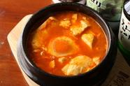 野菜と豆腐たっぷり クセになる辛口『スン豆腐チゲ』