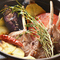 旬の食材や道産食材をメインに使用したシェフ自慢の料理
