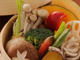 季節に応じた、高知県産の旬の有機野菜をご堪能ください