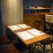 テーブル席はカジュアルな接待にも対応