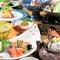 夜のご宴会、昼の会食にもおすすめのコース5000円でご用意!