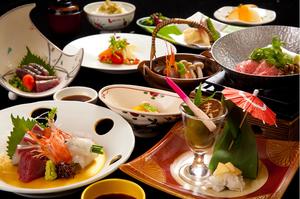 旬の食材が中心、御祝にふさわしい懐石料理『御祝膳』