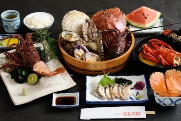 伊勢エビを心ゆくまで堪能できるメニュー『海女料理・松コース』