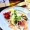 オーストラリア産セミドライトマトと前菜の4種盛り