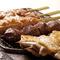 旨みたっぷりの「香鶏」を味わえる『串焼き』