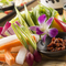 産直野菜のかご盛り~野菜スティック仕立て~モロ味噌を添えて~