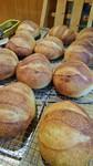 毎朝窯に火を入れる前に焼くパンです。おかわり自由ですよ。