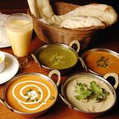 タイの『グリーンカレー』など、アジア各国の料理を堪能できる