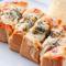 石窯焼きだから耳まで美味しい『石窯焼きピザトースト』