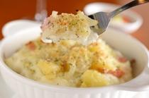 焼き色のついたホワイトソースが食欲を誘う『ドリアランチ』