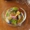 白ワインとも合いそうな『佐島産魚介と鎌倉野菜のジュレ仕立て』