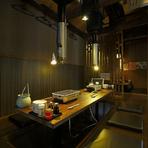 ゆったりと寛げる空間で、こだわりの土佐料理をご堪能ください。