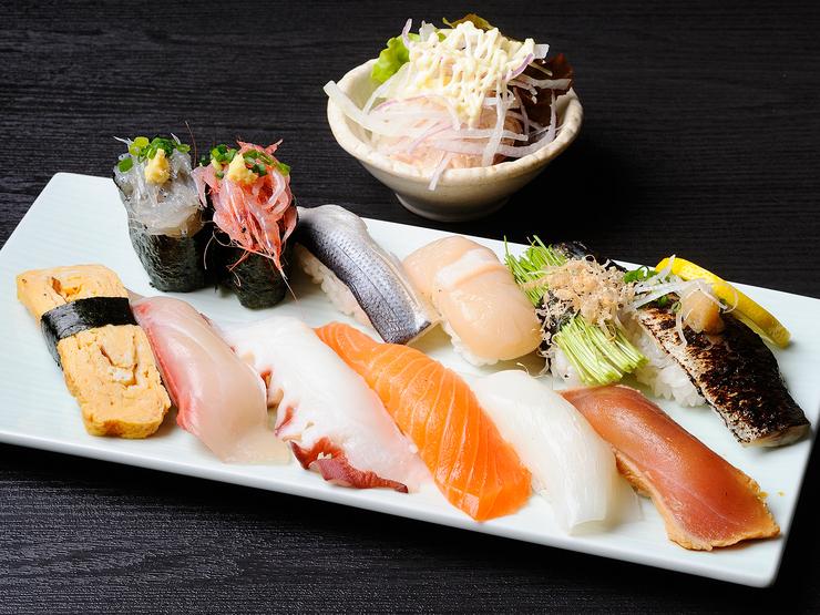 銀座沼津港の寿司