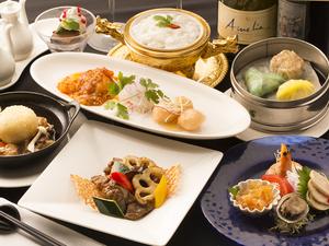 様々な食感、味わいが楽しめる『コース料理』 ※画像は一例です