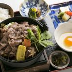 高価な神戸牛をお手頃な価格で楽しめる、お得なランチ膳です。神戸の街に来た記念に味わって行ってください