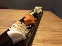 朝倉野菜を使ってます。 野菜のポテンシャルはすごいです。野菜が持っている甘味と旨みを最大限に引き出しています。
