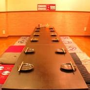 2次会・3次会で、もうゆったり座りた~いとなったらこのお部屋!10名様以上で貸切可能!