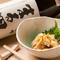 辛口特別純米 二世古(北海道) × 自家製 赤ホヤの塩辛