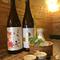 常時15~20種類のこだわり日本酒を置いています