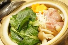 """地元農家の""""小松菜""""が自慢のコースです。"""