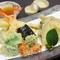 コースでも楽しめるサクサクの食感がたまらない『天ぷら』